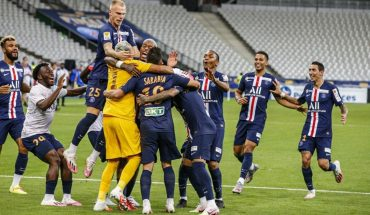 PSG derrotó a Lyon en los penales y ganó la Copa de la Liga de Francia