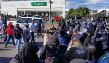 Policías de Guanajuato impiden manifestación de familiares de desaparecidos