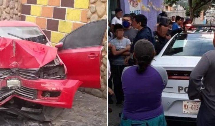 Policías rescatan presunto delincuente de ser linchado en Milpa Alta
