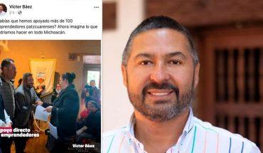 Presidente de Pátzcuaro se promociona para buscar la gubernatura de Michoacán