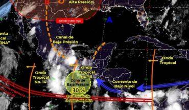 Pronóstico del clima de hoy: 2 ondas tropicales traerán lluvias a México