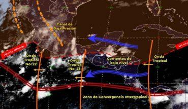 Pronóstico del clima de hoy: Prevén lluvias en Durango, Sinaloa, Veracruz y Oaxaca