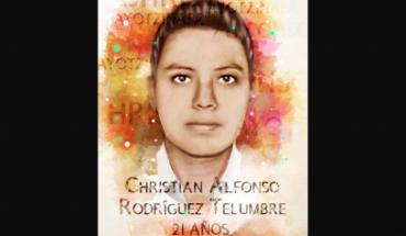 Quién era Christian Alfonso, el normalista identificado