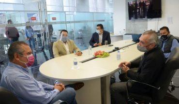 Raúl Morón establece lazos de colaboración social con el Club Atlético Morelia