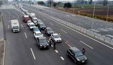 Reducción sobre el 60% del tráfico vehicular y 82% menos de fallecidos dejó este fin de semana largo en comparación al año pasado