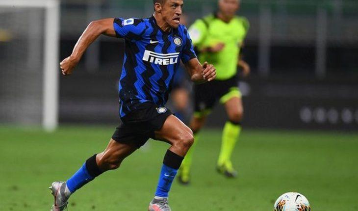 Serie A: Alexis Sánchez no gravitó y jugó 59 minutos en triunfo del Inter sobre Napoli