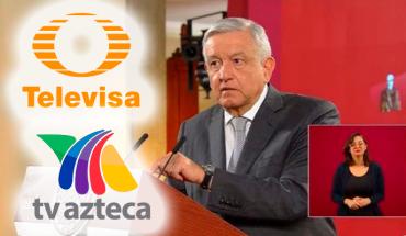 TV Azteca y Televisa los medios más beneficiados por la 4T