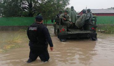 Tormenta tropical Hanna provoca inundaciones en Nuevo León y Tamaulipas