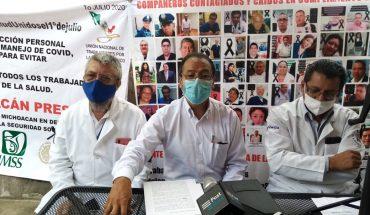 Trabajadores del sector salud piden calificar Covid-19 como riesgo de trabajo