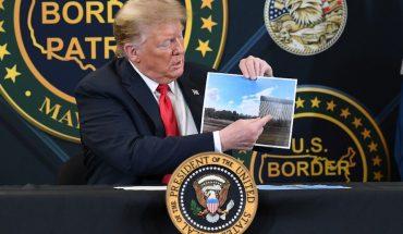 """Trump presume muro; dice que opositores quieren abrir frontera a """"criminales"""""""