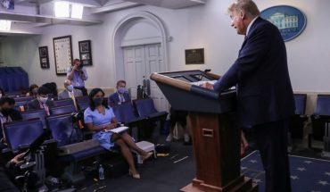 """Trump recula frente al coronavirus: """"Es una enfermedad agresiva y peligrosa"""""""