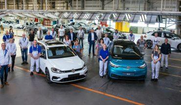 Una fabrica de Volkswagen en Alemania deja de fabricar autos de combustión
