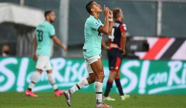 [VIDEO] Alexis ratifica su buen momento con un nuevo gol en victoria del Inter ante Genoa