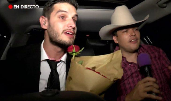 ¡Adrián Marcelo lleva serenata con Leandro Ríos!   Adrián Marcelo Presenta