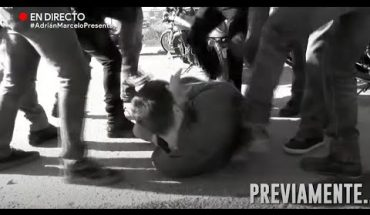 ¡Motociclistas golpean a Adrián! | Adrián Marcelo Presenta