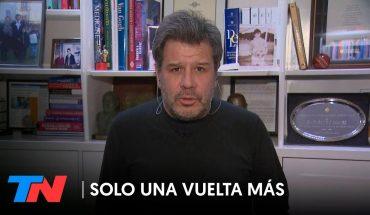 """Facundo Manes: """"El 80% de los jóvenes está ansioso o deprimido""""   SÓLO UNA VUELTA MÁS"""