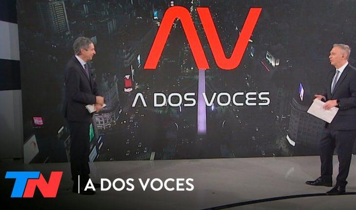 Fernán Quirós, Margarita Stoblizer y José Luis Chilavert en A DOS VOCES