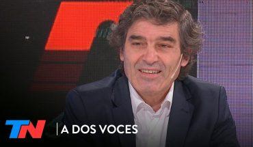 """Fernán Quiros, Ministro de Salud porteño: """"Gollán tiene un estilo frontal""""   A DOS VOCES"""