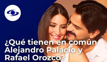 Fuera de la música, Alejandro Palacio y Rafael Orozco tienen más cosas en común - Caracol TV