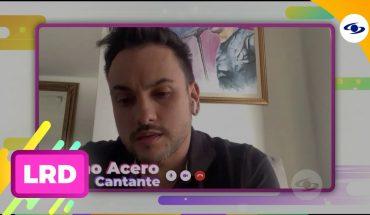 La Red: Cantante Nacho Acero habla sobre su lucha contra el COVID-19 tras ser positivo- Caracol TV