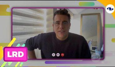 La Red: Carlos Calero da su testimonio tras vencer el coronavirus-Caracol Televisión