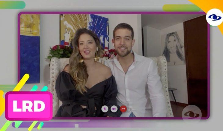 La Red: esta es la historia de amor de Daniella Álvarez y Lenard Vanderaa - Caracol Televisión