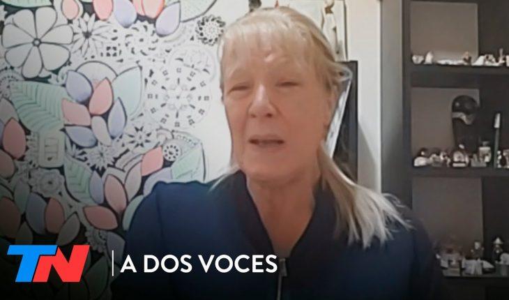 """Margarita Stolbizer: """"Los juicios orales no avanzan en la Argentina""""   A DOS VOCES"""