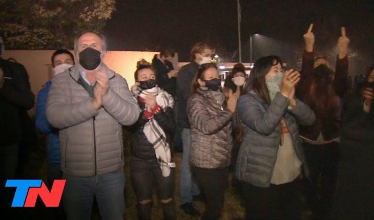 Pilar: vecinos de Lázaro Báez protestaron en contra de su domiciliaria