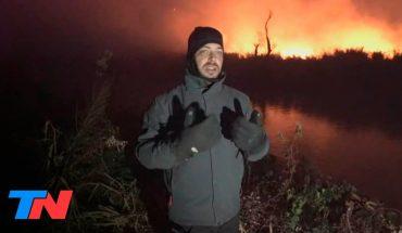 TN en el foco de los incendios en el Delta del Paraná: el fuego sigue avanzando en las islas