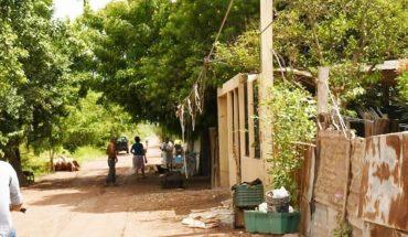 Ya no aguantan más los moscos en la colonia Los Almacenes en Los Mochis, Sinaloa