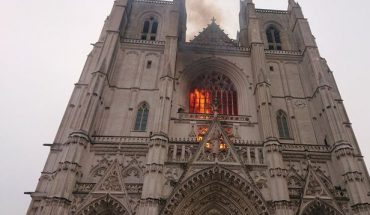 A man is arrested for investigation of the Nantes Cathedral fire