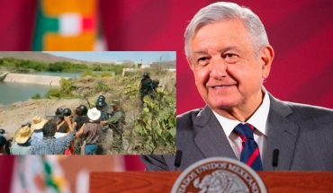AMLO crosses from political opportunism situation of Chihuahua to deliver water (Video)