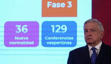 AMLO says it came back negative for COVID-19, before leaving for THE US
