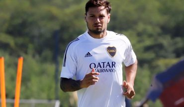 After the shooting, Mauro Zárate arranged his continuity in Boca