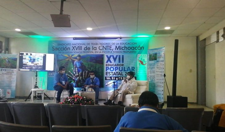 """CNTE Michoacán accuses pandemic as pretext for """"new magisterial exploitation"""""""