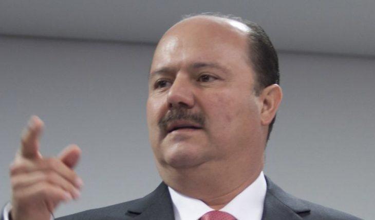 Cesar Duarte, former governor of Chihuahua, florida, USA is arrested