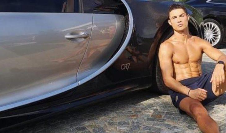 Cristiano Ronaldo boasts his incredible $3.5 million Bugatti Chiron