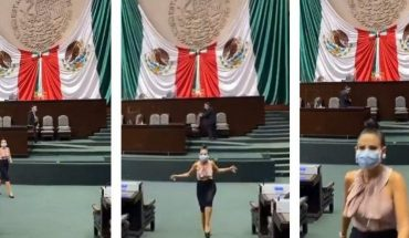 Deputy dances hostage at the congress for Tik Tok and creates controversy