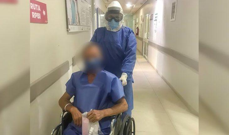 Diabetic patient wins COVID-19 at Apatzingán General Hospital