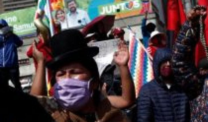 In Bolivia they also march for pension fund money