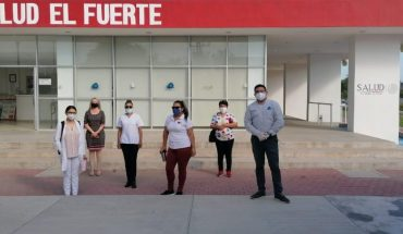 Intense campaign of sanitization in the medical units of El Fuerte