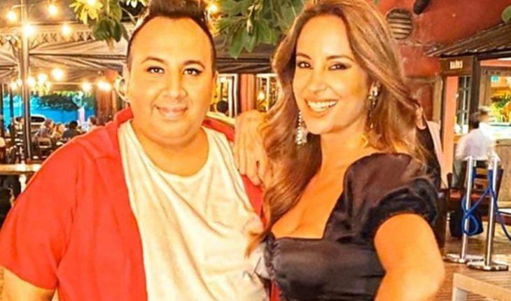 """Lourdes Sanchez's tender message for La Floppy: """"I love you to heaven"""""""