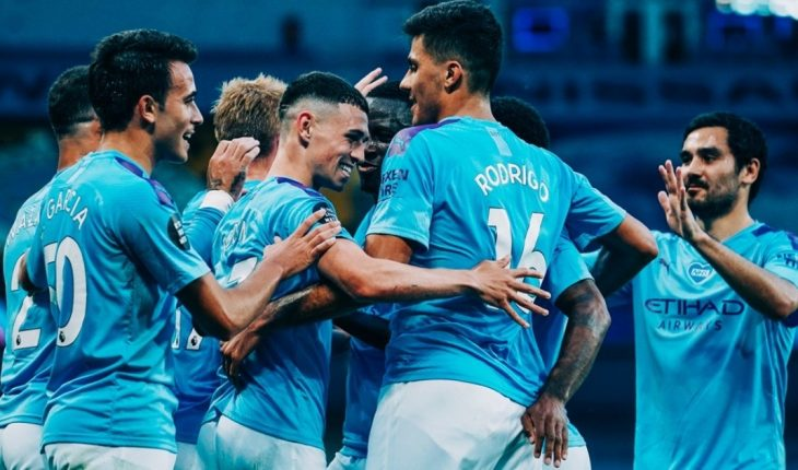 Manchester City ruined Liverpool festivities with a 4-0 goal