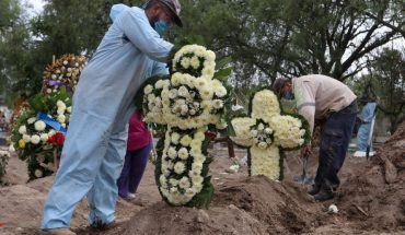 Mexico exceeds 42 thousand deaths per COVID; there are already 378 thousand cases