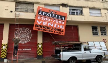 Pandemic: La Matanza volunteer firefighters put the barracks up for sale