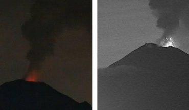 Popocatépetl volcano emits incandescents, smoke and ash this July 27 (VIDEO)