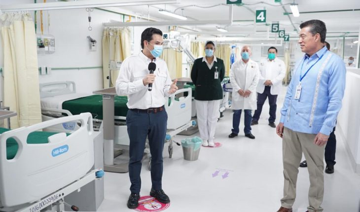 Strengthen hospitals in Chiapas and Tabasco to tackle COVID