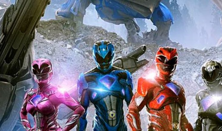 The first details of the movie 'Power Rangers' are leaked