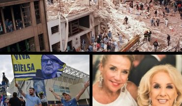 The first-person AMIA attack, special controls for friend's day, the health of Mirtha Legrand, ascent and title of the Leeds de Bielsa and more...