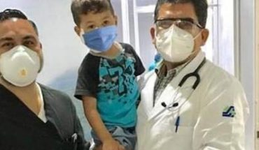 They tie up the boy who suffered dog bite in the face, Guasave